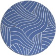 rug #765025 | round blue abstract rug