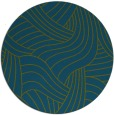 rug #765045 | round green abstract rug