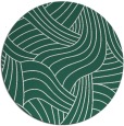 rug #765117 | round green rug