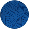 rug #765153 | round blue abstract rug