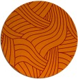 rug #765173 | round orange abstract rug
