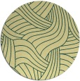 rug #765189 | round yellow abstract rug