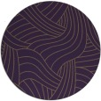 rug #765217 | round purple abstract rug