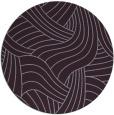 rug #765221 | round purple abstract rug
