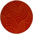rug #765229 | round red abstract rug