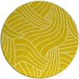 rug #765285 | round yellow abstract rug