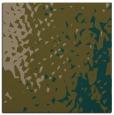 rug #767565 | square mid-brown animal rug