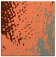 rug #767645 | square red-orange animal rug