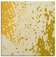 rug #767733 | square yellow animal rug
