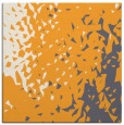 rug #767793 | square light-orange animal rug