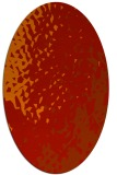rug #768041 | oval red animal rug