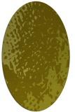 rug #768117 | oval light-green animal rug