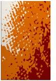 rug #768341 |  orange animal rug