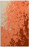 rug #768345 |  orange animal rug