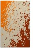 rug #768465 |  orange animal rug
