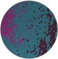 rug #768565 | round pink rug
