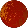 rug #768745 | round red animal rug