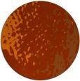 rug #768757 | round red-orange animal rug