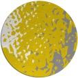 rug #768801 | round yellow animal rug