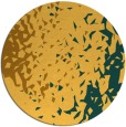 rug #768805 | round light-orange animal rug