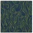 rug #769241 | square blue abstract rug