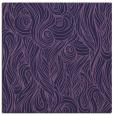 rug #769301 | square blue-violet rug
