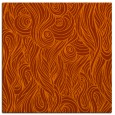 rug #769461 | square red-orange abstract rug