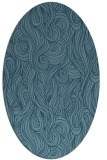 rug #769584 | oval abstract rug
