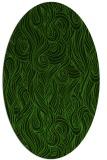 rug #769628 | oval abstract rug
