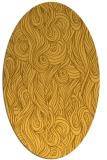 rug #769861   oval light-orange abstract rug