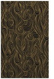 rug #769929 |  mid-brown abstract rug