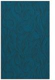 rug #769989 |  blue abstract rug