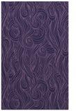 rug #770005 |  blue-violet rug