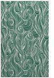 rug #770041 |  green abstract rug