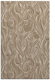 rug #770061 |  mid-brown abstract rug