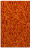 rug #770097 |  orange abstract rug