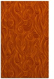 rug #770165    red-orange abstract rug