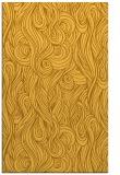 rug #770213 |  yellow abstract rug