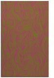 rug #770237 |  light-green abstract rug