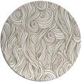 rug #770261 | round beige natural rug