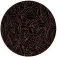 rug #770277   round black natural rug