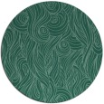 rug #770317   round blue-green abstract rug