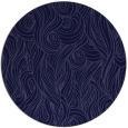rug #770345 | round blue-violet rug