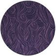 rug #770357 | round purple rug