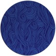 rug #770365 | round blue-violet abstract rug