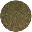 rug #770381 | round brown abstract rug
