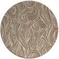 rug #770413 | round beige abstract rug