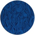 rug #770429   round blue abstract rug