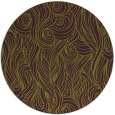 rug #770489 | round purple rug