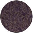 rug #770493   round purple abstract rug